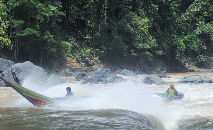 "Giram Luyu ""Surga"" Yang Tersembunyi di Nunukan, Kalimantan Utara/Foto Edy Santri"