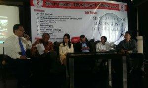 "Diskusi ""Menelaah Potensi Radikalisme Di Pilkada DKI Jakarta"" di Cikini, Jakarta Pusat, Senin (20/3/2017)/Foto Ahmad Hatim | NUSANTARAnews"