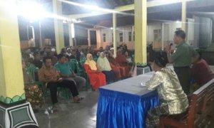 Danramil 0824/13 Rambipuji Berikan Wawasan Kebangsaan Kepada RT, RW dan Tokoh Masyarakat Ds Pecoro/Foto Sis24