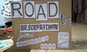 Panitia Penyelenggara WR. Soepratman Festival menggalang dukungan dari masyarakat Purworejo/Foto Panitia Festival