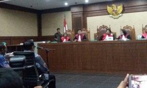 Jalannya Sidang e-KTP/Foto Fadilah/Nusantaranews