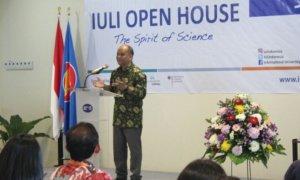 Ilham A Habibie dalam acara IULI Open House/Foto Dok. Pribadi