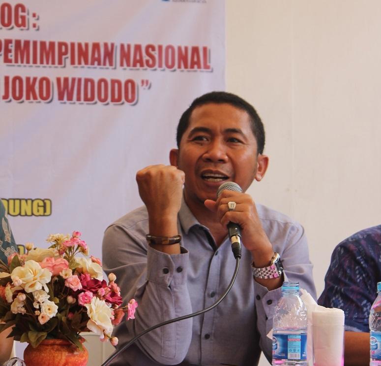 Salamuddin Daeng/Foto Ahmad Hatim / NUSANTARAnews