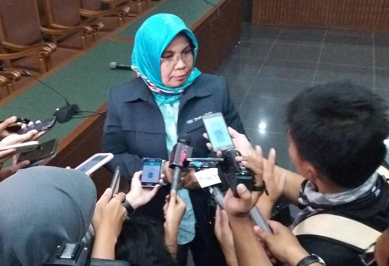 Jaksa Penuntut Umum (JPU) KPK, Irene/Foto Fadilah/Nusantaranews