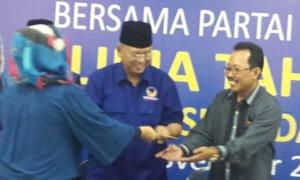 Ketua DPW Partai Nasdem Jatim, Rendra Kresna/Foto Tri Wahyudi/Nusantaranews