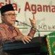 Ketua MPR RI, Zulkifli Hasan, saat menghadiri acara Refleksi 71 Tahun Muslimat NU bertema Pancasila, Agama dan Negara/Foto Dok. Humas MPR RI/Nusantaranews