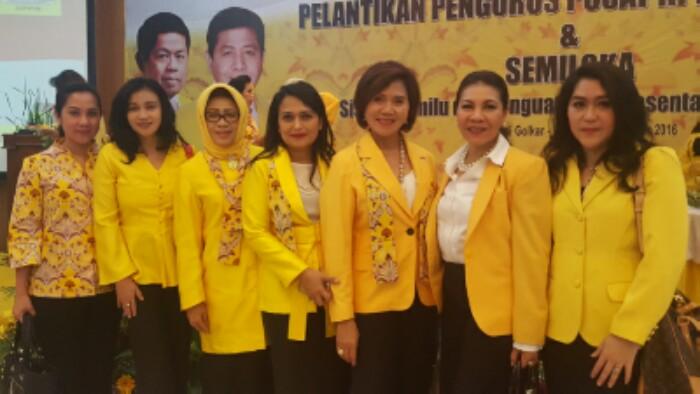 Pemberdayaan Perempuan dan Kesatuan Perempuan Partai Golkar (PP KPPG)/Foto politikterkini/Nusantaranews