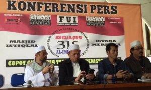 Konferensi Pers FUI Menjelang Aksi 313. Foto Richard Andika/ NUSANTARAnews