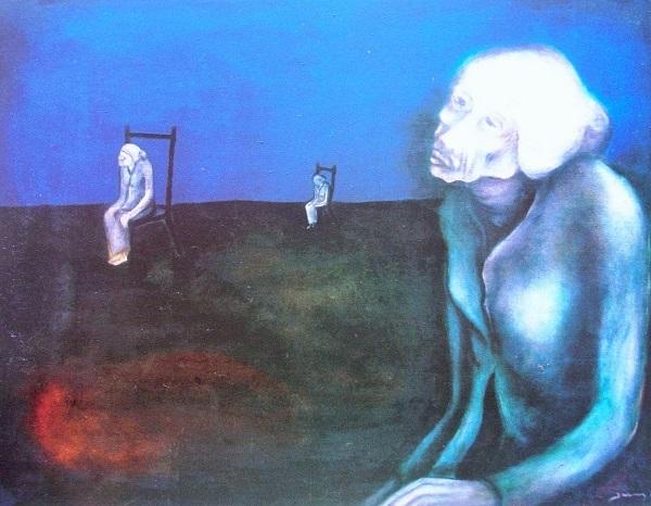 "H.Amang Rahman Jubair, ""Nenek"", 1976 | Anak Wayang (Blog)"