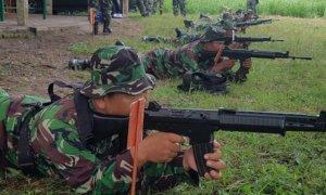 Latihan Menembak Kodim Tulungagung/Foto Dok. Pribadi/Nusantaranews