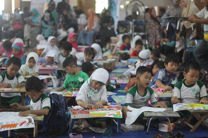 Lomba Mewarnai Dan Donor Darah Pungkasi Psycofest Nusantaranews