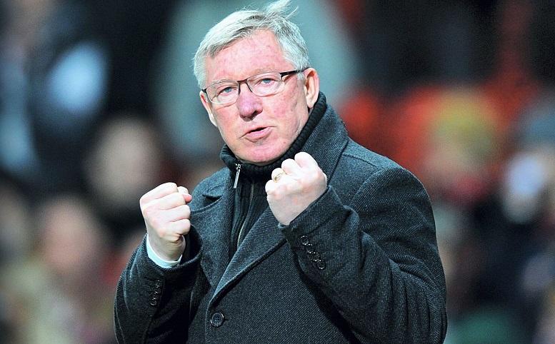 Mantan Pelatih MU, Sir Alex Ferguson/Foto via refract/Nusantaranews