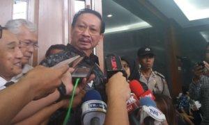 Mantan Wakil Ketua Komisi II Dewan Perwakilan Rakyat (DPR) RI, Taufiq Effendi/Foto Restu Fadilah/Nusantaranews