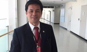 Anggota Komisi I DPR RI, Marinus Gea/Foto: @Korea (Istimewa)