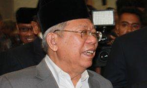 Ketua MUI Ma'ruf Amin/Foto Hatim/Nusantaranews