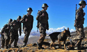 Militer China/Foto via the tibet post/Nusantaranews