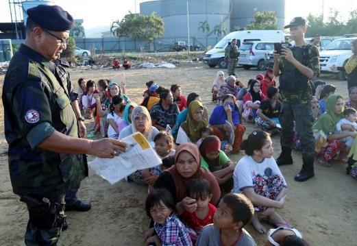 Para TKI Ilegal di Sabah/Foto Eddy Santry/Nusantaranews