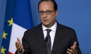 Presiden Perancis François Hollande/Foto via VOA