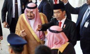 Raja Salman/Foto via detik