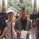 Rombongan PB HMI saat datangi Gedung KPK/Foto Dok. Pribadi/Nusantaranews