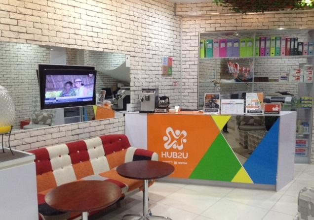Salah satu ruangan yang disediakan HUB2U untuk para enterpreneur start up company/Foto Dok. Pribadi/Nusantaranews