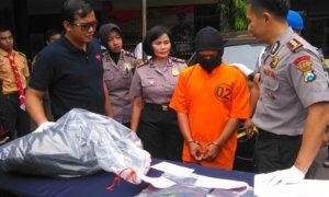 Pelaku Pembunuhan Manager Ekspedisi Di Sidoarjo Ditangkap Polisi/Foto Tri Wahyudi