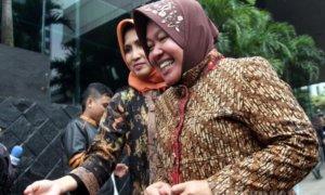 Walikota Surabaya tri rismaharini ke kpk/Foto via tribunews/Nusantaranews