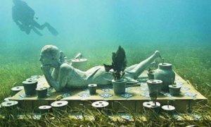 Museum Bawah Laut Grenada/Ilustrasi: Dok. arkeologibawahair