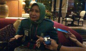 Anggota DPRD Jatim dari dapil Surabaya-Sidoarjo, Anik Maslachah/Foto Tri Wahyudi