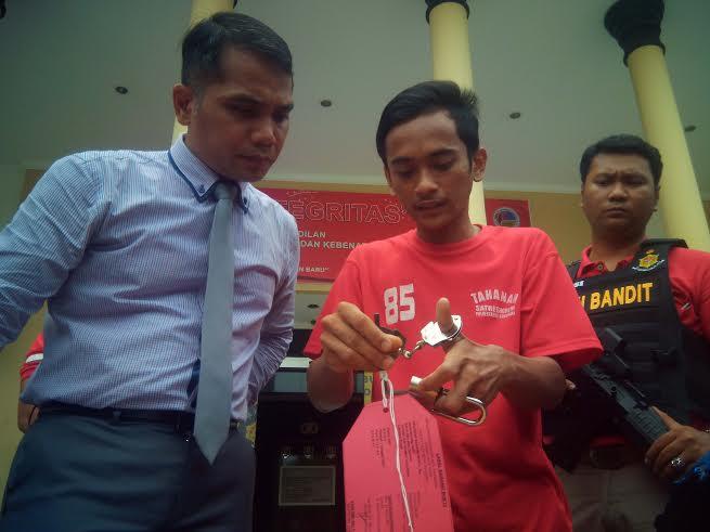 curanmor belajar dari internet/Foto Tri Wahyudi/Nusantaranews