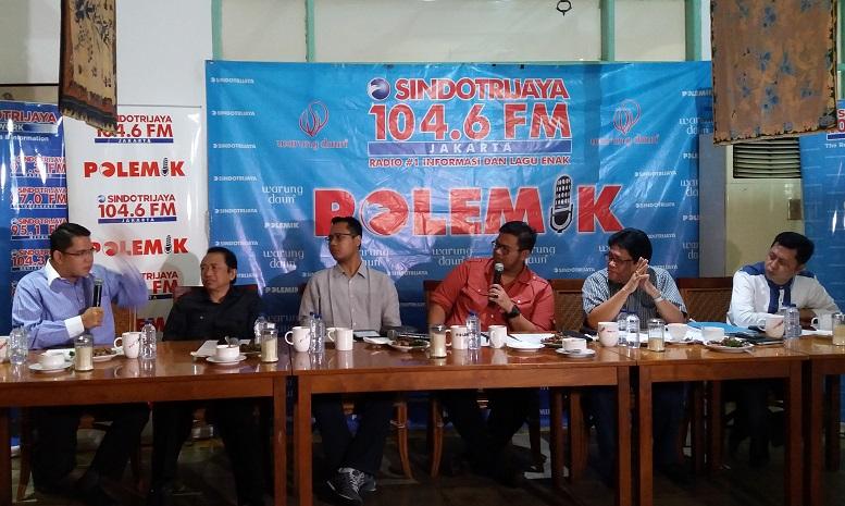 diskusi publik bertajuk 'Samber Gledek e-KTP/Foto Fadilah/Nusantaranews