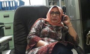 Anggota Komisi C DPRD Jatim Anik Maslahah/Foto Tri WAhyudi