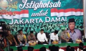 Istighosah Untuk Jakarta Damai di PBNU/Foto Ucok/Nusantaranews