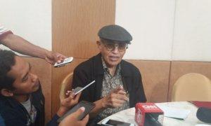Ilmuwan Politik, Salim Said. Foto Restu Fadilah/ NUSANTARANEWS