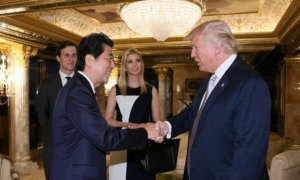 Donald Trump and Shinzo Abe. Foto Reuters