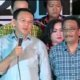 Ahok-Djarot mengucapkan selamat atas kemenangan Anies-Sandi. Foto Crop: Nusantaranews