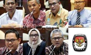 Anggota KPU 2017-2022/Foto Dok. KPU RI/Nusantaranews