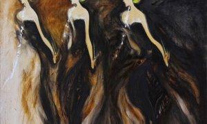Bedaya Srikandi, Dignity of Nation, Srihadi Soedarsono, 200 cm x 150cm, Oil on canvas | JAVADESINDO