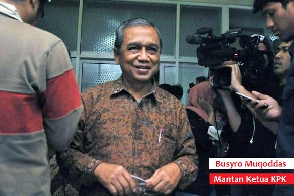Mantan Ketua KPK, Busyro Muqoddas. Foto Via Aktual.com