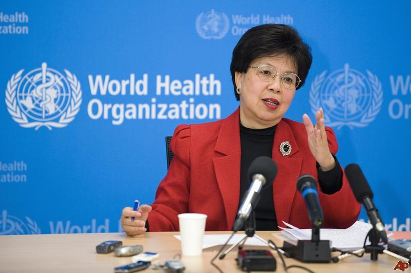 Direktur Jenderal WHO, Dr Margaret Chan/Foto via nationwideradiojm/Nusantaranews