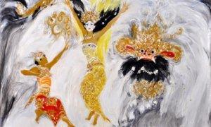 Gelora Remaja, Srihadi Soedarsono, 280 cm x 180cm, Oil on canvas | JAVADESINDO