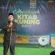 Walikota Bandung, Ridwan Kamil membuka acara Babak Penyisihan Musabaqoh Kitab Kuning di Ponpes Miftahul Falah, Kota Bandung, Kamis (6/4/2017). Foto Ainur Rosyid