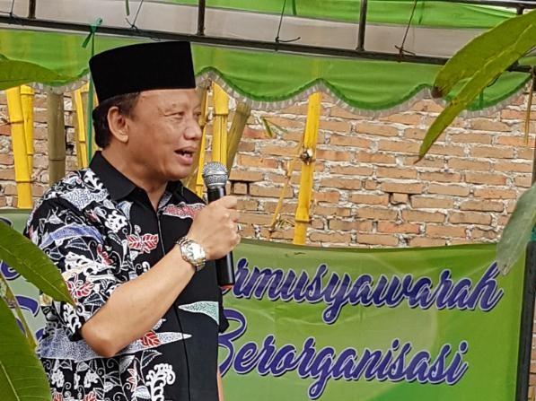 Ketua Ikatan Alumni UIN Sunan Kalijaga (IKA SUKA) Yogyakarta, Syaiful Bahri Anshory. Foto Ucok Al Ayyubi/ NUSANTARAnews