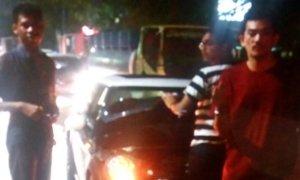 Sorot Mobil Mini Cooper Mogok Kena Banjir di Kemang, Jurnalis NET TV Dipukul dan Diludahi. Foto Istimewa
