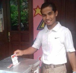 Sekretaris PP Pemuda Muhammadiyah, Pedri Kasman. Foto Dokumentasi Pribadi