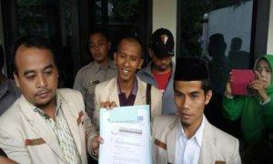 Satgas Advokasi PP Pemuda Muhammadiyah secara resmi sudah melaporkan JPU ke Komjak Terkait Penuntutan Persidangan Penistaan Agama. Foto Dokumentasi Pribadi