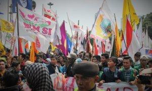 Demonstrasi Gerakan Mahasiswa/Ilustrasi. Foto Achmad Hatim/ NUSANTARAnews