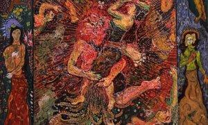 Lukisan: Ibu Pertiwi karya Nasirun | sinarharapan.net