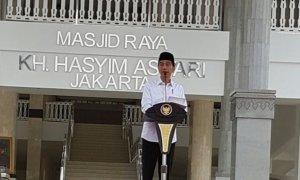 Jokowi resmikan Masjid Hasyim Asy'arie/Foto Istimewa/Nusantaranews