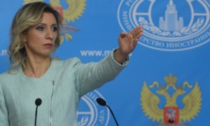 Juru bicara Kementerian Luar Negeri Rusia, Maria Zakharova/Foto russiainsider/Nusantaranews